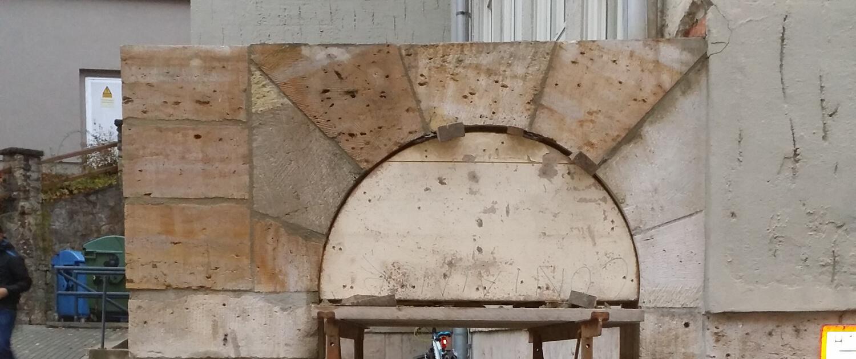 Restaurierung von Naturstein