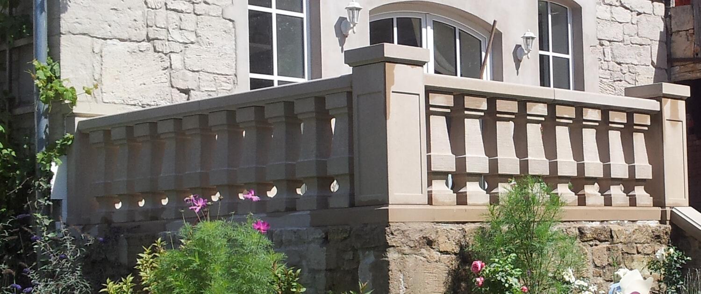 Zaunsäulen - Balustrade
