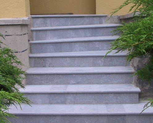 Treppensanierung mit Naturstein